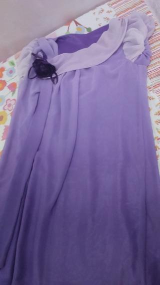 Vestido De Festa Violeta Preço Ótimo!!