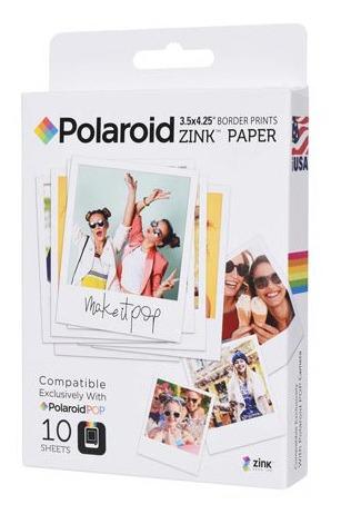 Papel Fotográfico Polaroid Branco Polaroid Pop - Polzl3x410