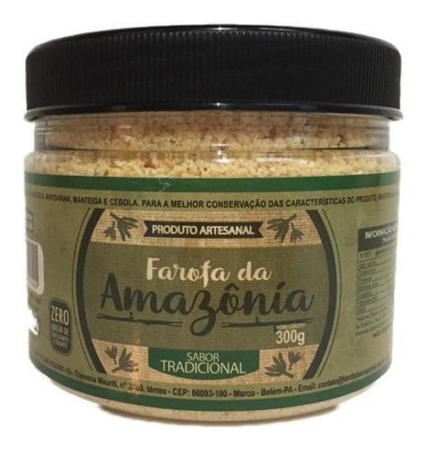 Imagem 1 de 3 de Farofa Da Amazônia 100% Artesanal - Sabor Tradicional 300g