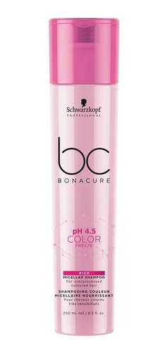Schwarzkopf Ph 4.5 Color Freeze - Shampoo Micelar Red 250 Ml