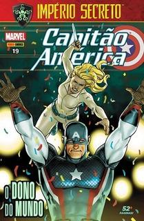 Hq Capitão América Nº 19 Set/2018 - O Dono Do Mundo