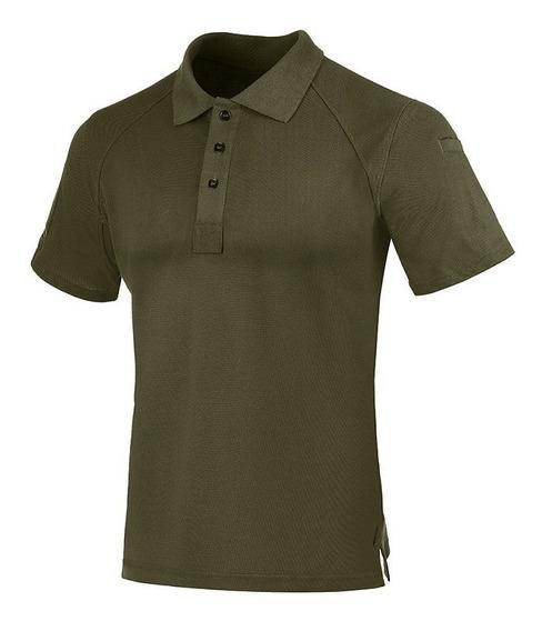 Camisa Polo Invictus Control - Azul/caqui/cinza/verde/preto