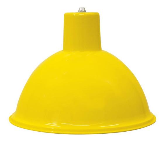 Lustre Pendente Td 820 Taschibra Amarelo Barbearia Balcao