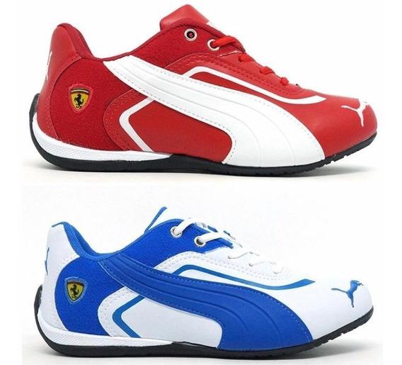 Kit 2 Pares Tenis Ferrari Masculino Original Frete Grátis