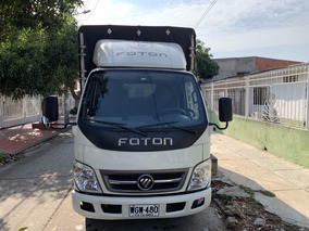 Camion Foton Aumark Con Carpa Modelo 2018 3400km