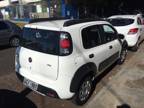 Fiat Uno Way Evo 1.0 Branco 2018