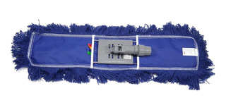 Kit Refil Esfregao Mop Po Acrilico 60 Cms + Suporte Perfect