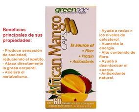 f69eae3d1 10 Botes Mango Africano Premium 60 Cáps Veg C u Envío Gratis