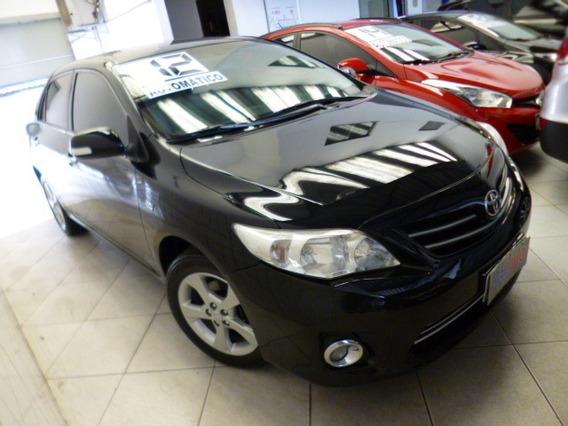Corolla 2.0 Aut Flex Xei 2012 Preto