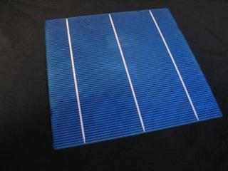 Painel Célula Placa Solar Fotovoltaica Multi Cristal 156x156