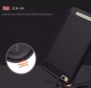 Capa Case Capinha+película Xiaomi Redmi 4a Tela 5.0 Top..
