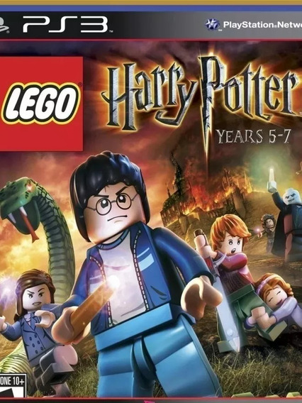 Ps3 Lego Harry Potter Years 5-7 | Jogo Psn Envio Rápido