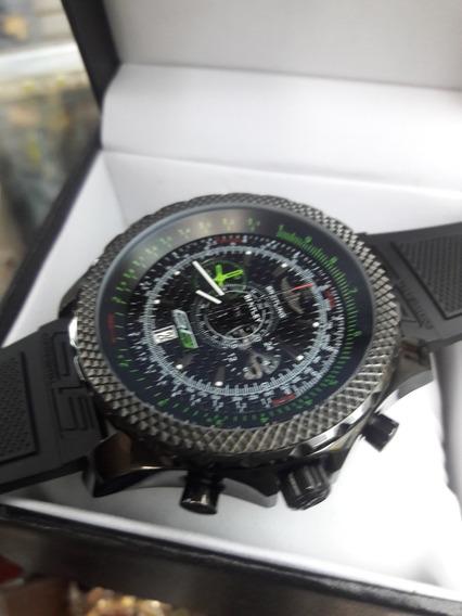 Relógio Breitling Preto Funcional Original Breitling