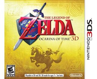 The Legend Of Zelda Ocarina Of Time 3d Sellado
