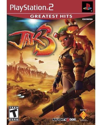 Jogo Jak 3 Playstation 2 Original Novo