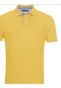 Kit De Camisetas Polo Listradas Algodao