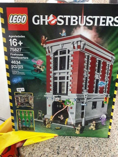 Lego 75827 Fire Station Headquater , Ghostbuster - Al´s Toys