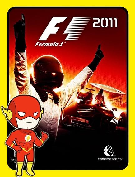 F1 2011 Pc - Steam Key (envio Flash)