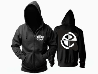 Campera Yellow Claw Never Dies Black Logo