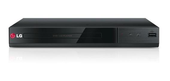 Leitor Multimídia LG Dvd Cd Usb Dp132 - Bivolt
