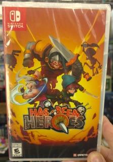 Has Been Heroes Nintendo Switch / Nuevo Sellado Oferta!!