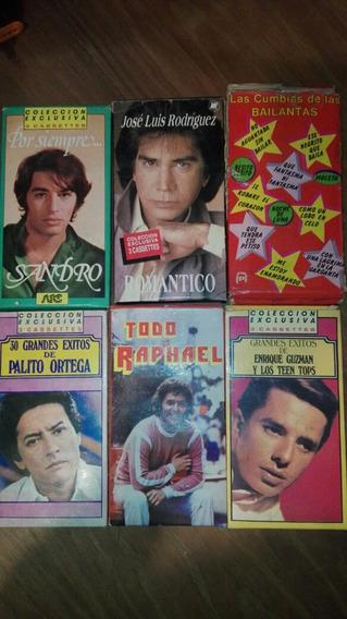 Colección Cassettes Sandro/palito/raphael/puma Rodríguez,etc