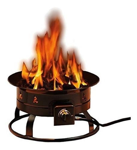 Heininger 5995 58000 Btu Pozo De Fuego Al Aire Libre De Prop