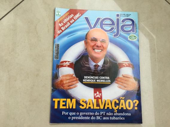 Revista Veja 32 Henrique Meirelles Editora Abril Lula L216