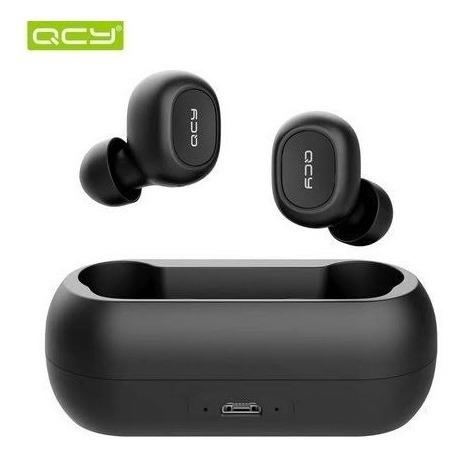 Fone Qcy T1c Bluetooth 5.0 + Case Carregador Frete Grátis