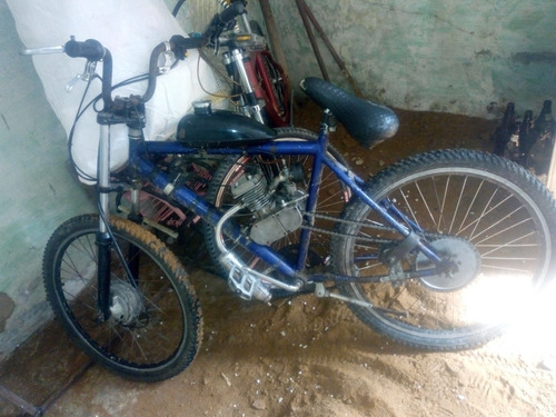 Imagem 1 de 2 de Bicicleta Motor Cc