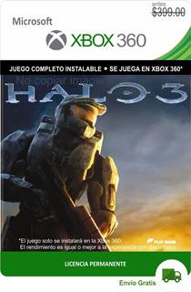 Halo 3 Xbox 360 -- Permanente --