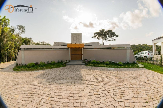 Casa Com 3 Dormitórios À Venda, 504 M² Por R$ 2.670.000,00 - Centro - Quatro Barras/pr - Ca0075