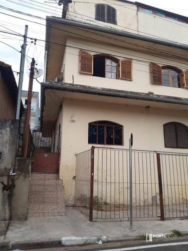Casa Com 2 Dormitórios Para Alugar, 396 M² Por R$ 1.350,00/mês - Jardim Pinheirinho - Embu Das Artes/sp - Ca0688