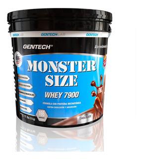 Monster Size Whey Protein 7900 5kg Gentech Suplementos