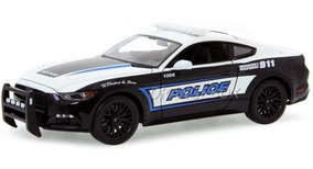 Ford Mustang Gt 5.0 2015 Police Maisto 1:18 36203