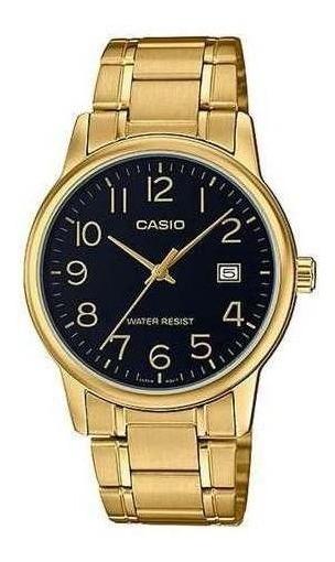 Reloj Casio Hombre Dorado Mtp-v002g-1budf