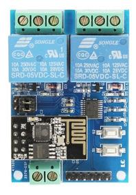 2x Módulos Rele Wifi Esp8266 Esp01 Automação Residencial