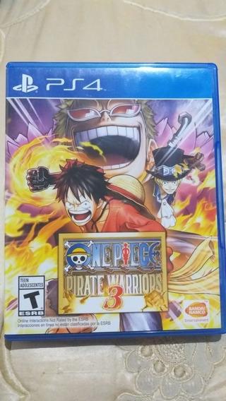 One Piece Pirate Warriors 3 -mídia Física - Ps4