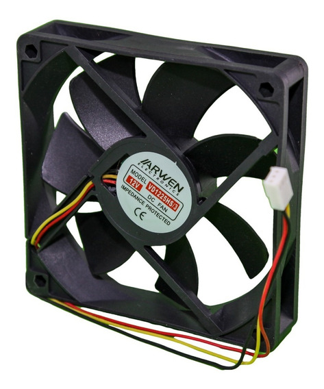 Cooler Fan Pc Gabinete 120x120x25mm 4 Pulgada 12v Molex Htec