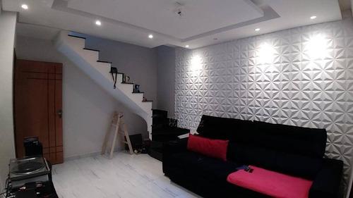 Cobertura Com 2 Dormitórios À Venda, 114 M² Por R$ 390.000,00 - Vila Francisco Matarazzo - Santo André/sp - Co5196