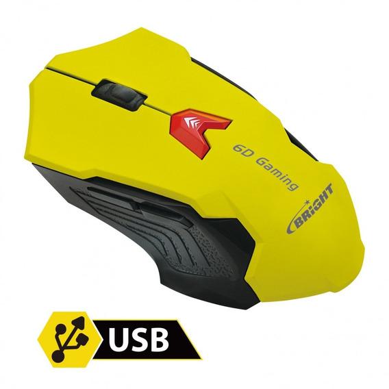 Mouse Gaming - Bright 0375 - Preto