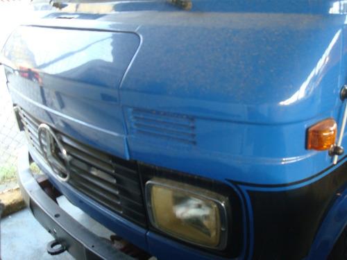 Mb 1113, F4000,mb 608 Ano 76 Cor Azul Diesel Sem Carroceria