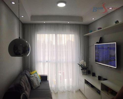 Imagem 1 de 15 de Cobertura Com 2 Dormitórios À Venda, 97 M² Por R$ 380.000,00 - Aricanduva - São Paulo/sp - Co0070