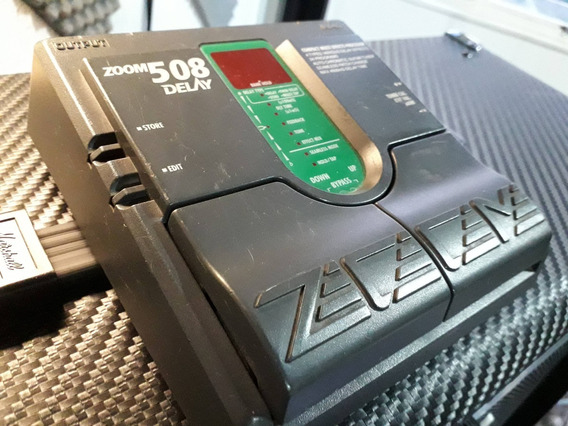 Pedaleira Zoom 508 Delay