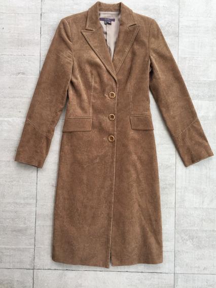 Casaco Trench Coat Manto Sobretudo De Veludo Caramelo Zara