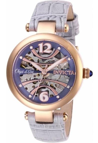 Relógio Invicta, Serie Objet D Art, Automático Feminino, Modelo 26370,