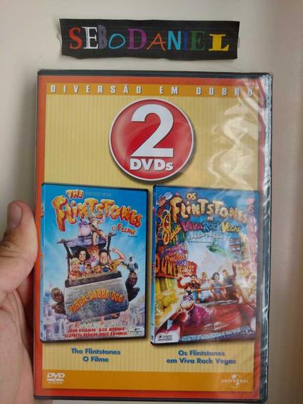 Dvd Flintstones O Filme + Viva Rock Vegas Box Duplo Lacrado