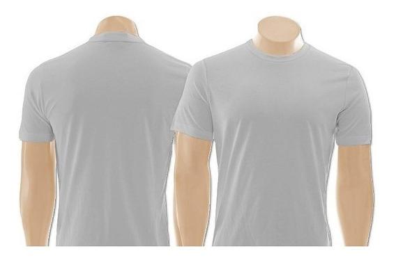 Kit 05 Camisetas Masculina Academia Lisa Esporte Fitness