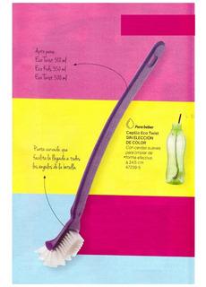 Accesorio Tupperware Cepillo Eco Twist Limpia Botella