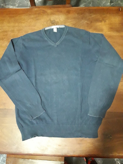 Sweater Azul Zara.